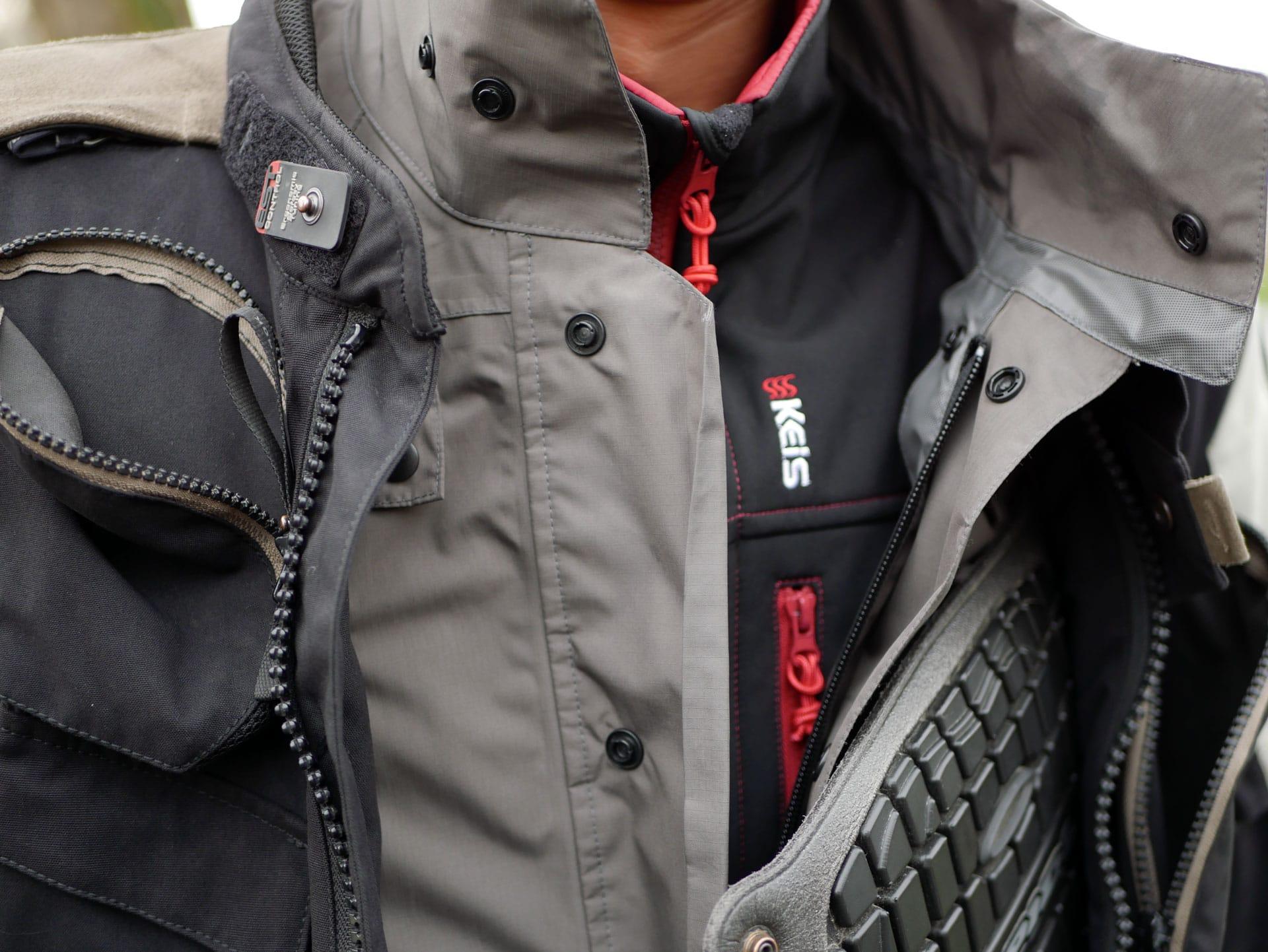 Test de la veste chauffante Keis J501 : le froid au passé