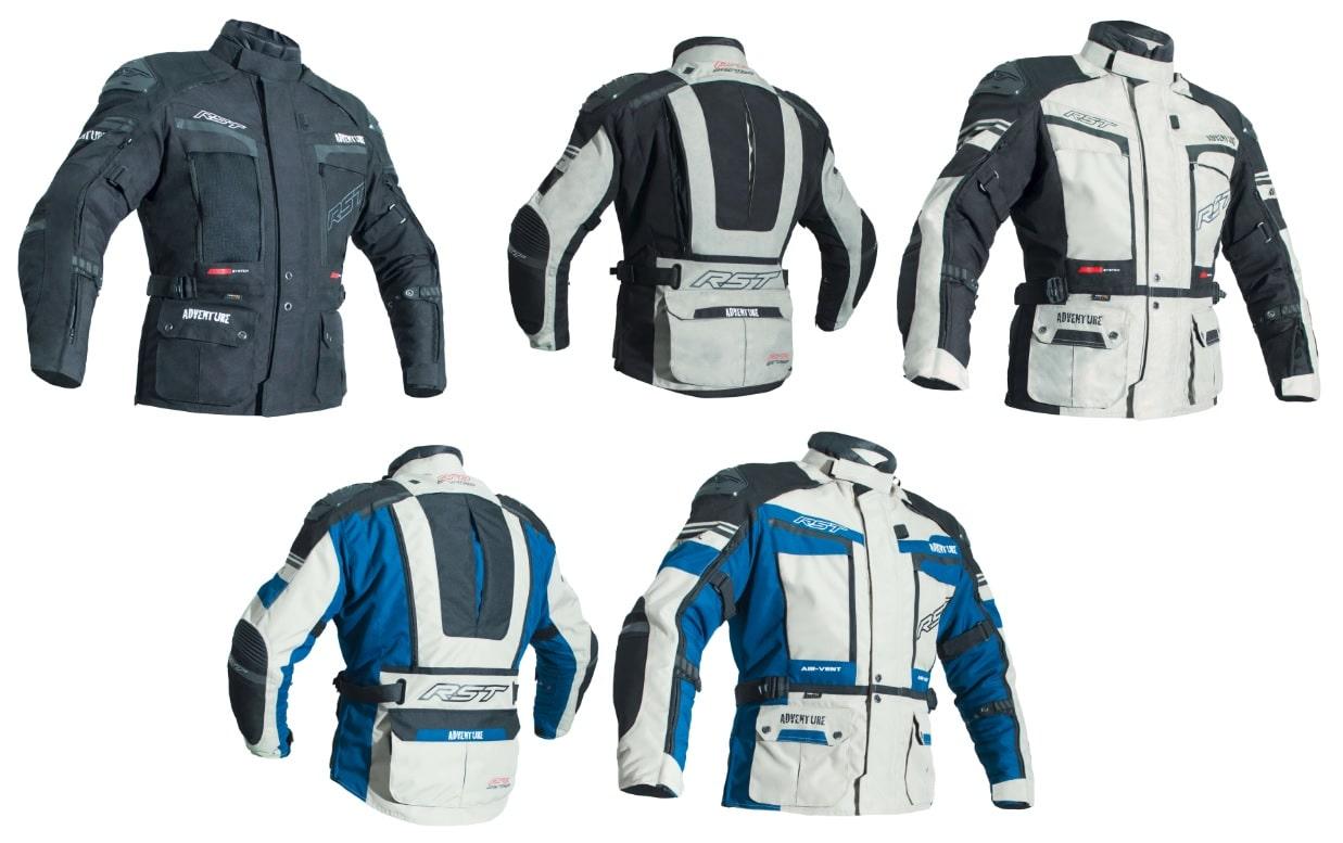 Blouson Textile Motard Sport Protections Doublure Hiver Moto Touring bleu S