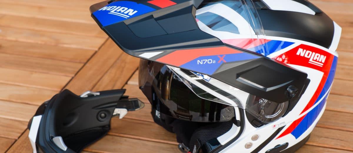 Test Du Casque Nolan N702 X Un Dual Sport Modulaire Bien équipé