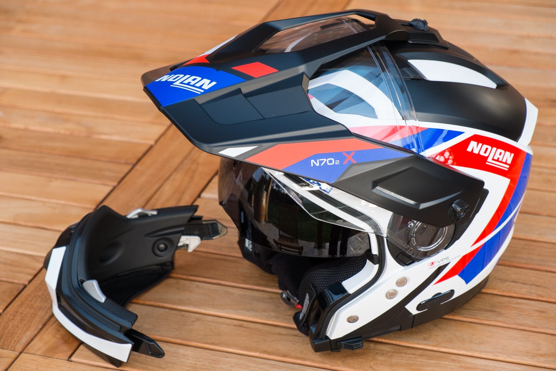 Test Du Casque Nolan N70 2 X Un Dual Sport Modulaire Bien
